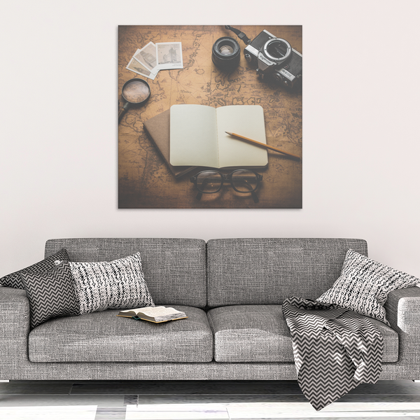 Explore Canvas Print - Design Resources