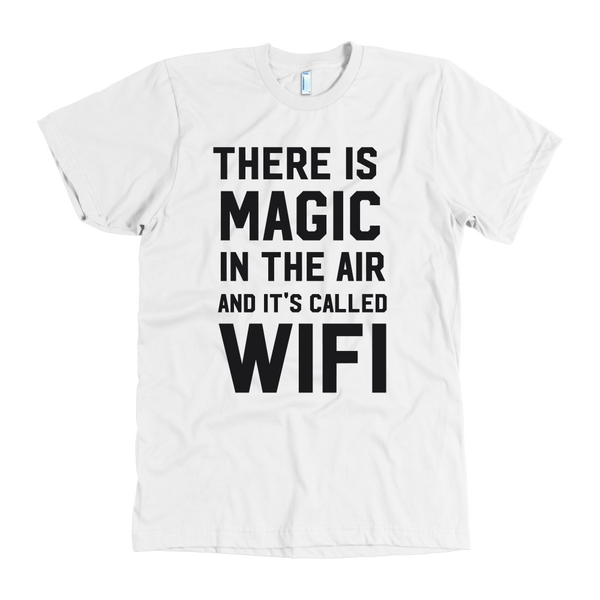 There is magic in the air and it's called wifi