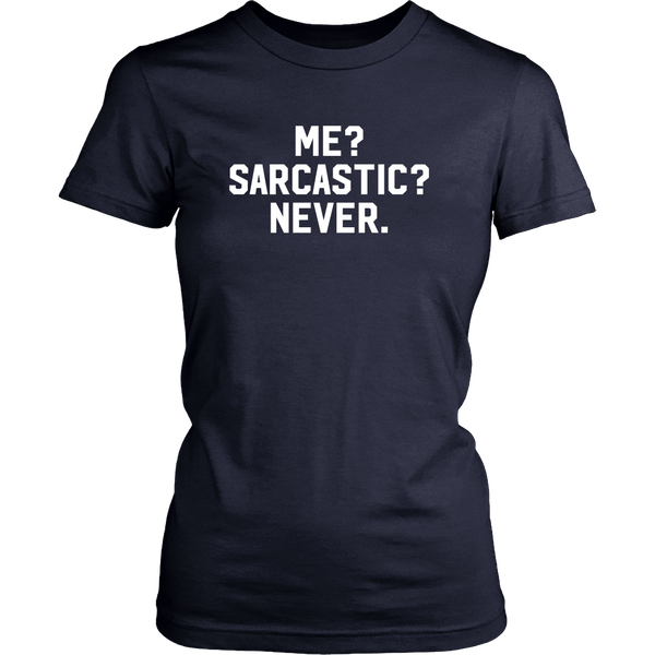 Me? Sarcastic? Never - Design Resources