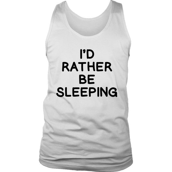 I'd rather be sleeping t shirt - Design Resources