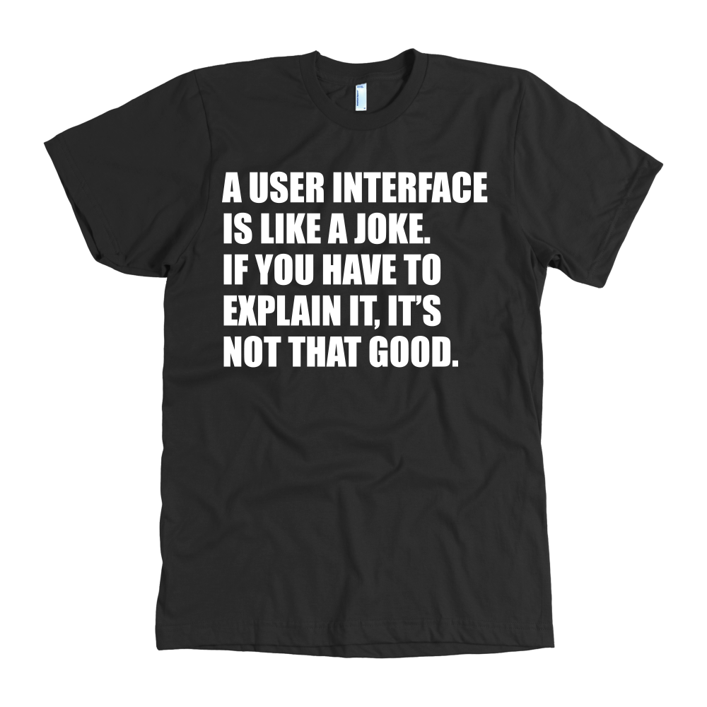 UI Design T Shirt