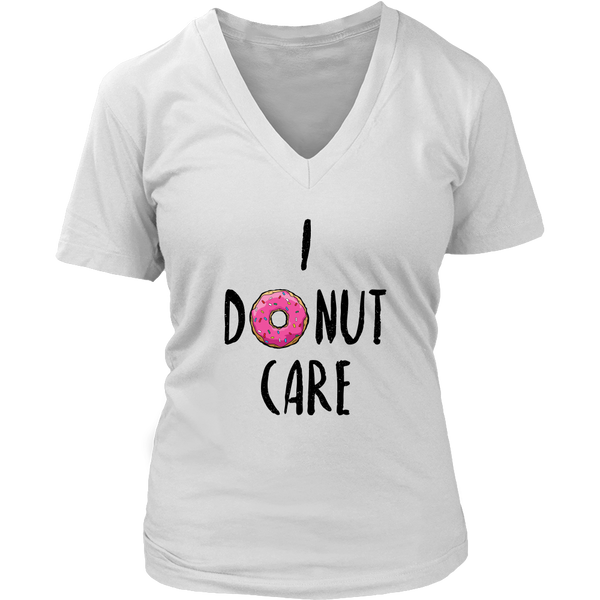 I donut care tshirt - Design Resources