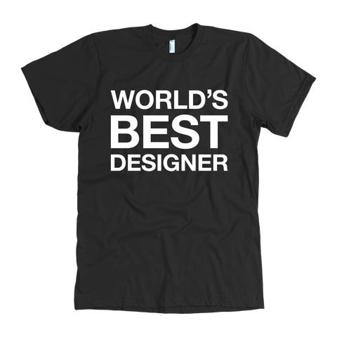 World's best designer t shirt