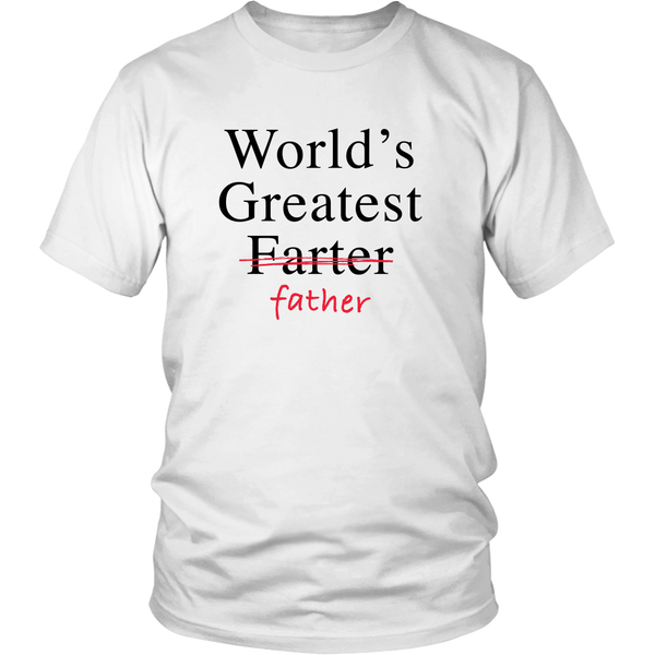 Worlds greatest father t shirt
