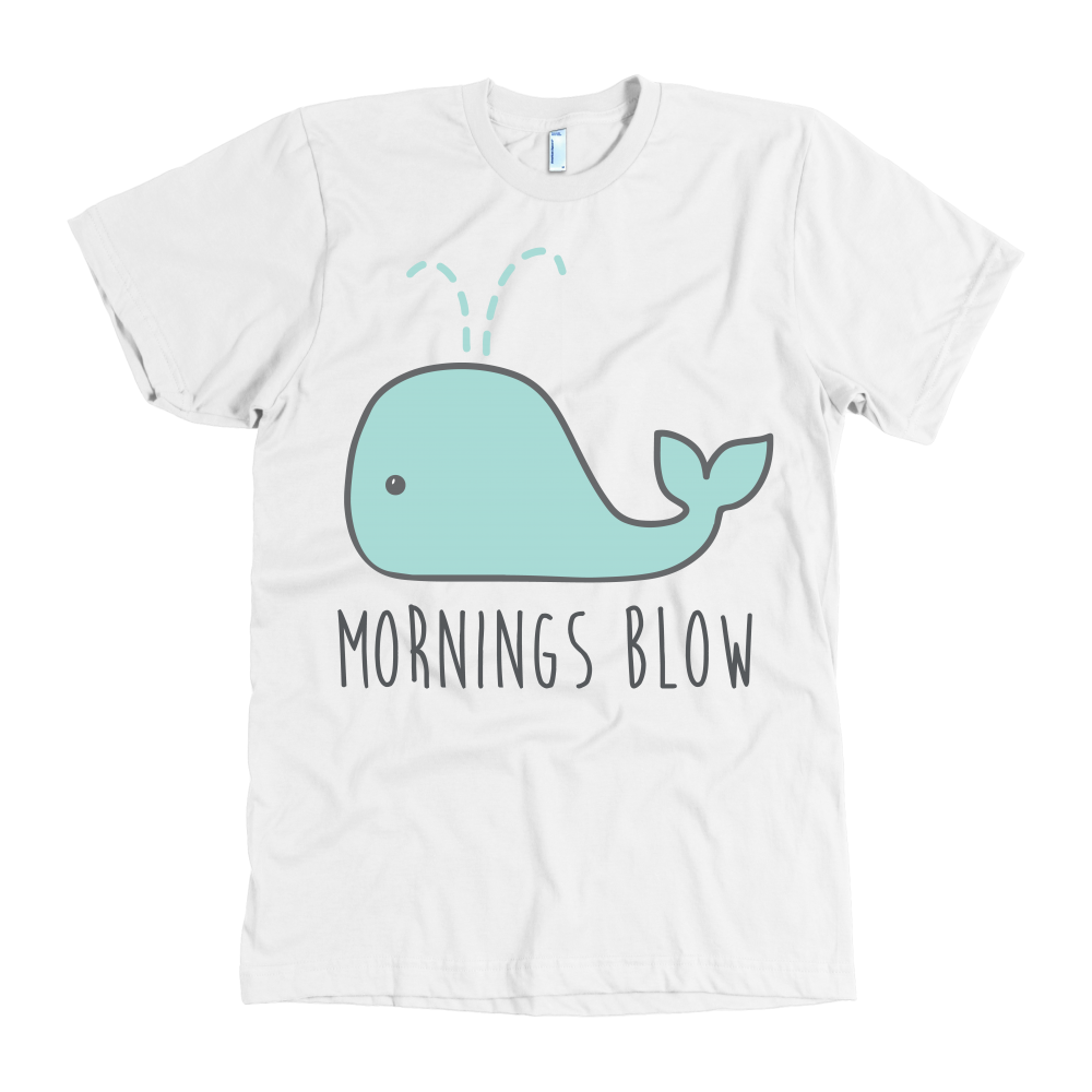Mornings blow tshirt - Design Resources