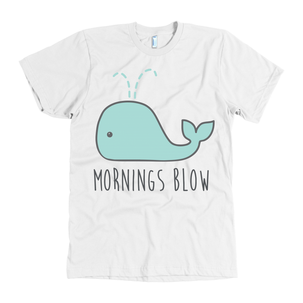 Mornings blow tshirt