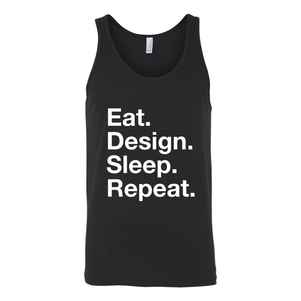 Eat design sleep repeat t shirt - Design Resources