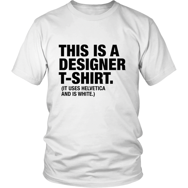 This is a designer tshirt -  - 1
