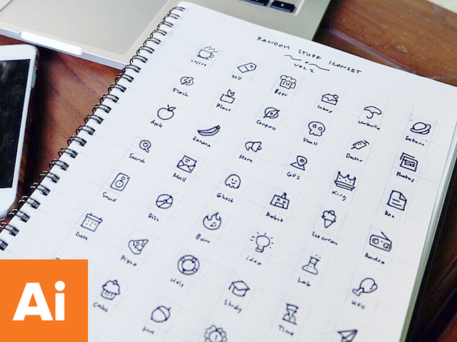 Random Stuff Iconset Vol 2 - Design Resources