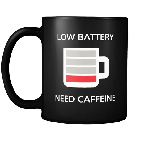 Low battery, need caffeine mug