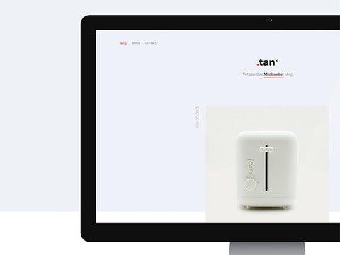 TANx: A minimal WordPress theme - Design Resources