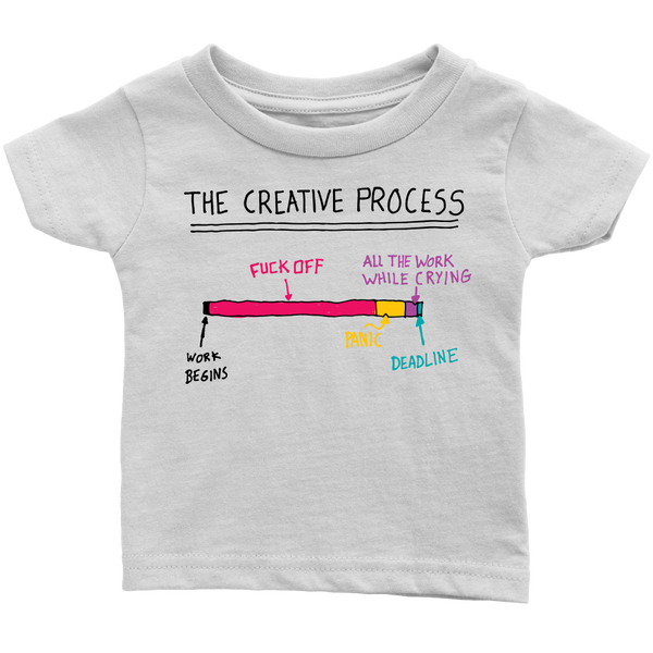 The Creative Process t shirt