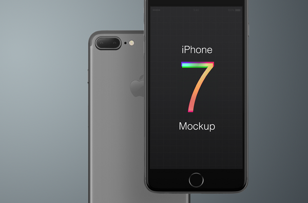 Free iPhone 7 Mockup - Design Resources