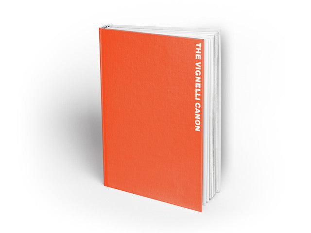 The Vignelli Canon ebook -