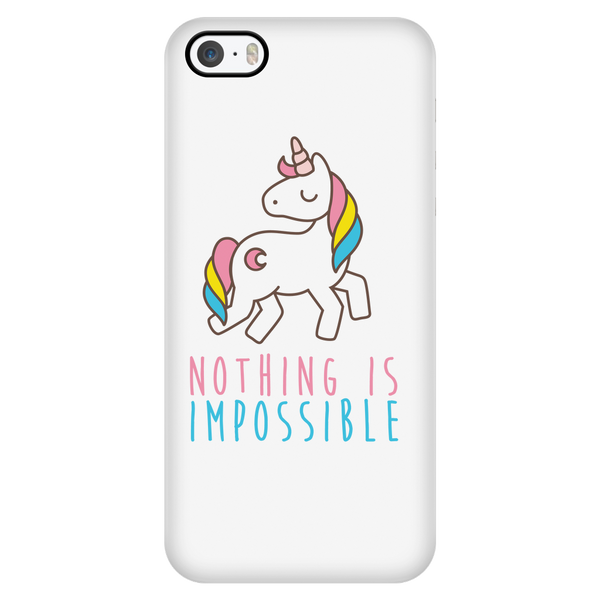 Nothing is impossible phone case