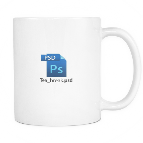 Tea Break Mug - desket. - 1