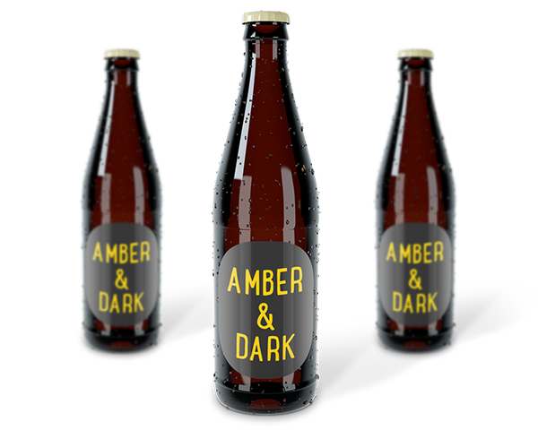 Mixed Case of Craft Beer - Amber / Dark