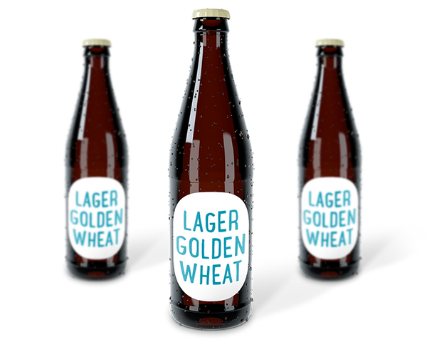 Mixed Case of Craft Beer - Lager / Golden / Wheat