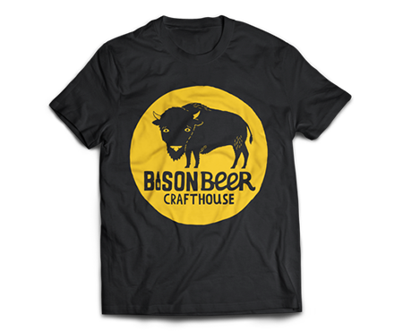 Bison Beer Full Logo T-Shirt