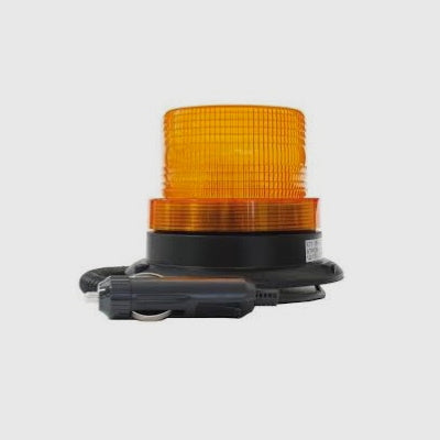 Beacon - Amber Strobe with Magnetic Base LV0605