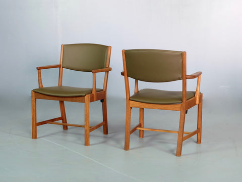 Poul Volther Side Chairs / Desk Chairs in Oak (1702758)