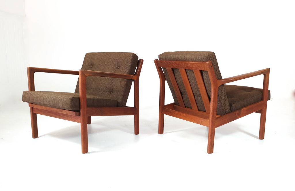 Pair of Lounge Chairs by Karl-Erik Ekselius (1802062)