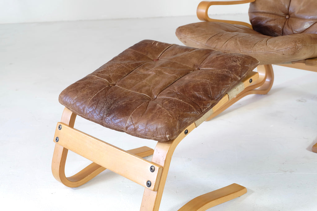 Yngve Ekström Lounge Chair with Footstool (1802099)