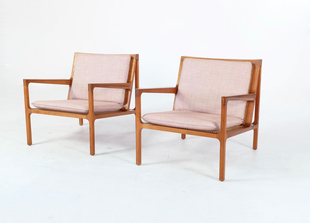 Pair of Peter Hjorth for Poul Jensen Armchairs (1804963)