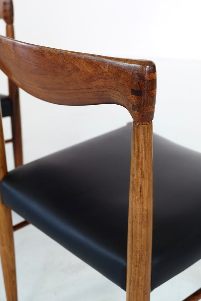 Set of Six HW Klein Dining Chairs in Rosewood (1901103)