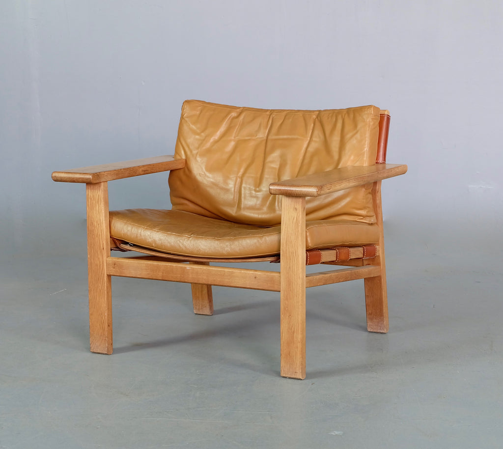 Kurt Østervig Spanish Chair in Oak & Leather (1902557)