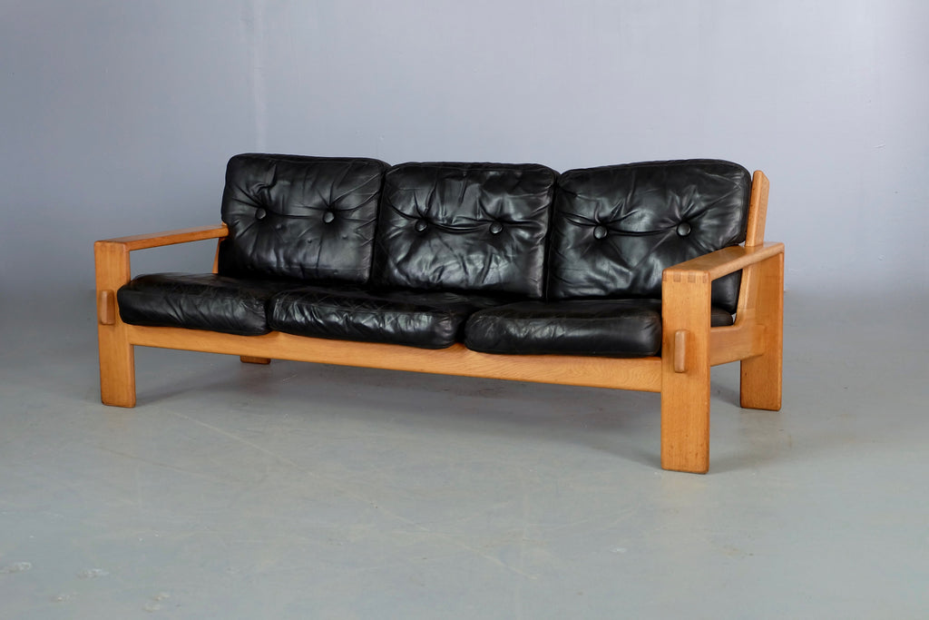 ASKO Sofa in Black Leather (1903162B)