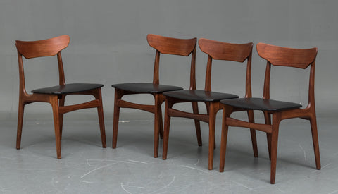 Four Schønning & Elgaard Dining Chairs in Teak (1904016)