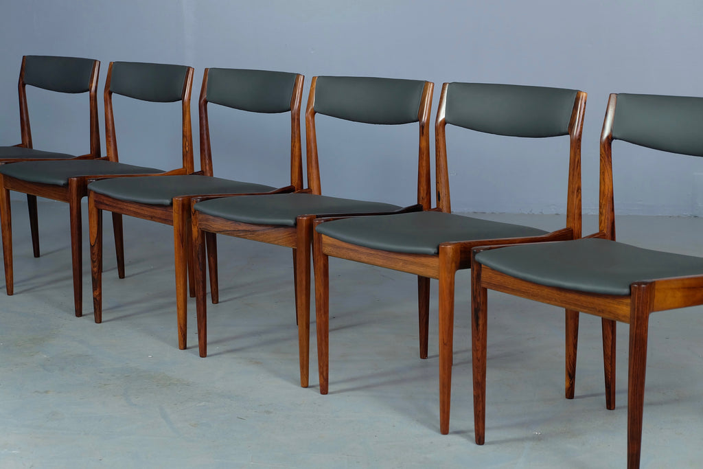 Six Danish Dining Chairs in Brazilian Rosewood (1904FJ065)