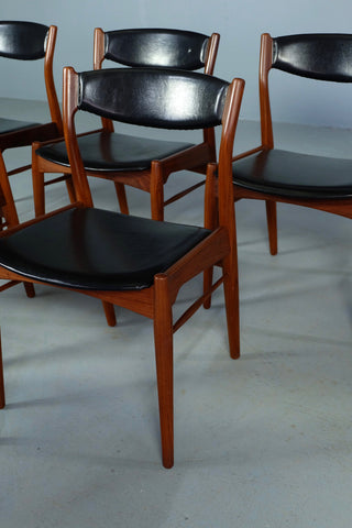 Six Wikkelsø Dining Chairs in Teak (1904FJ066)