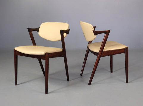 Set of Four Kai Kristiansen #42 Dining Chairs (2001001)