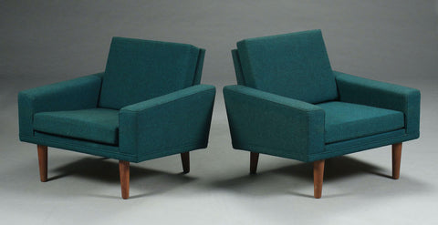 Pair of Ilum Wikkelsø Lounge Chairs (2001214)