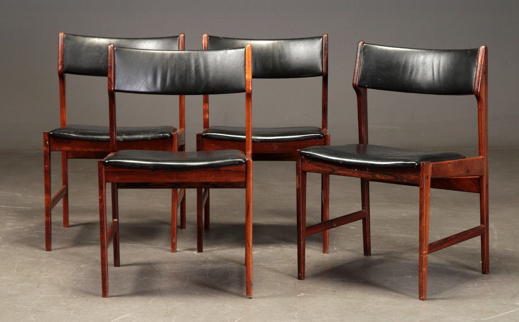 Four Danish Dining Chairs in Rosewood (2001221)