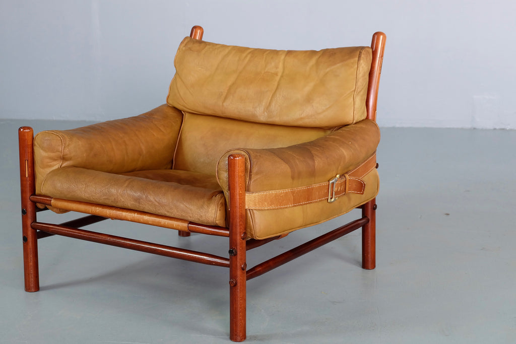 Arne Norell Kontiki Chair in Tan Leather (2001911)