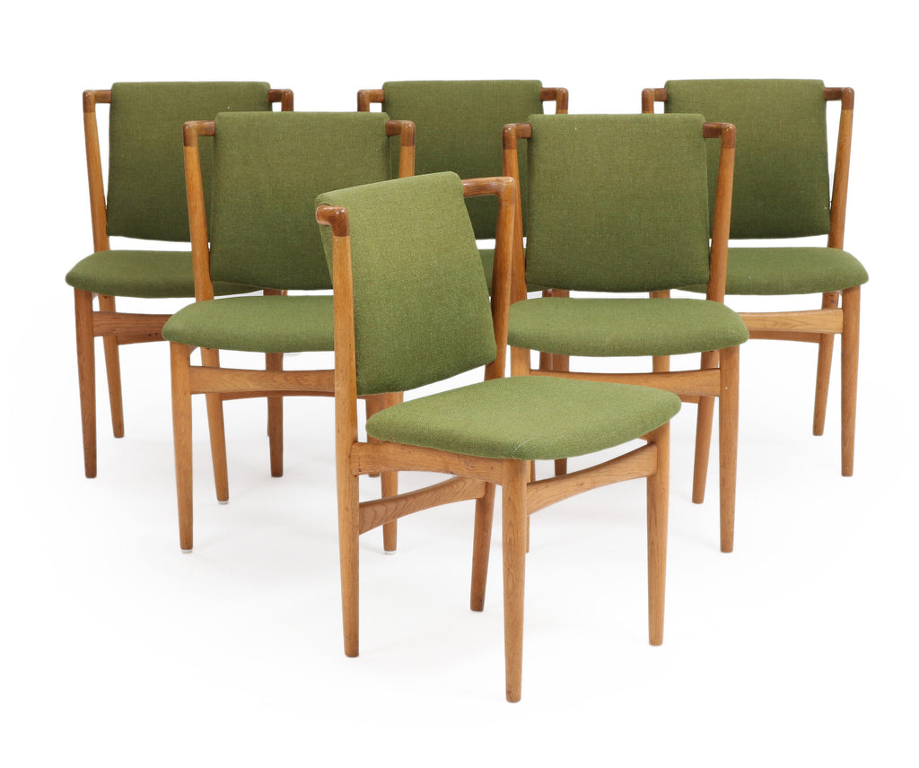 Six Slagelse Dining Chairs in Oak (2002008)