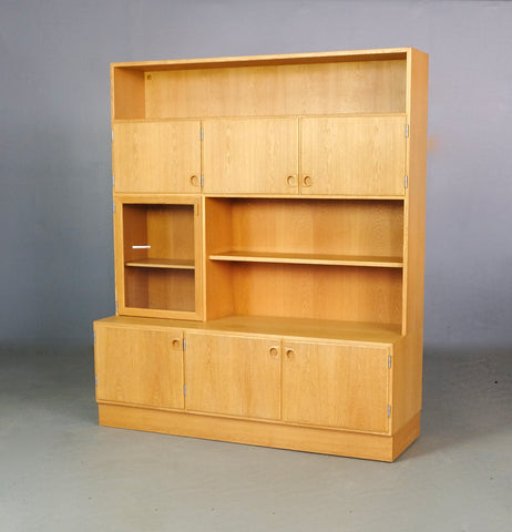 Danish Wall Unit in Oak (2002047)