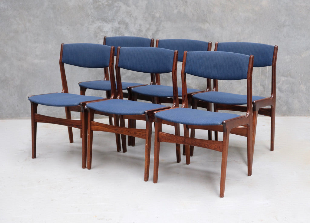 Six Nova Dining Chairs in Rosewood  (2002110)