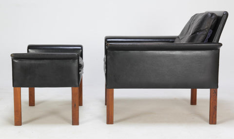 Hans Olsen Lounge Chair with Footstool (2002123)