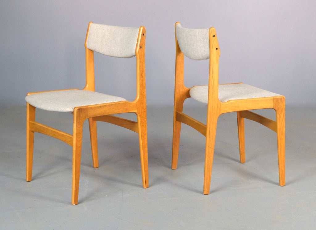 Four Erik Buch Dining Chairs in Oak  (2003156)