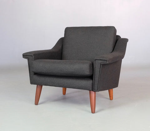 Danish Lounge Chair in New Wool (2003525)