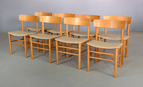 Four Farstrup Dining Chairs in European Oak (2003584)