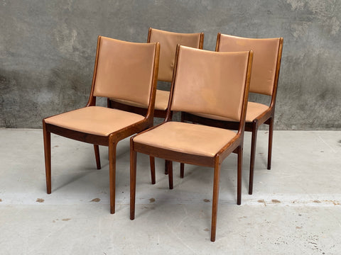 Four Johannes Andersen Dining Chairs (2003610)