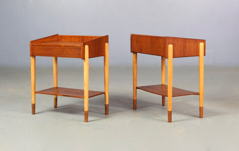 Pair of Model 148 Mogensen Bedside Tables (2003BM001)