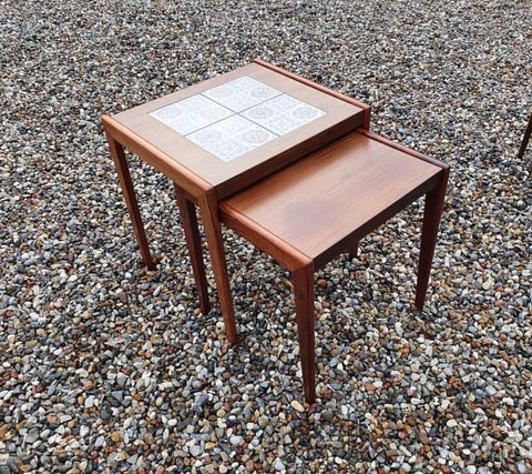 Danish Nest of Tables in Teak (2004056)