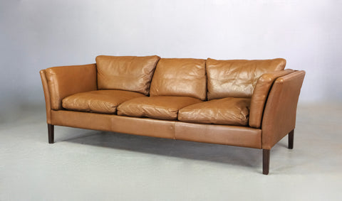 Danish Sofa in Leather (2004062)