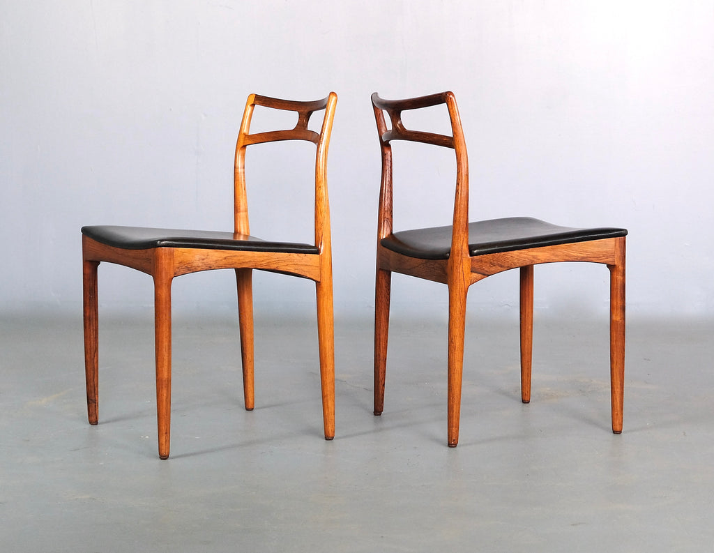 Six Johannes Andersen Model 94 Dining Chairs in Rosewood (20041903)